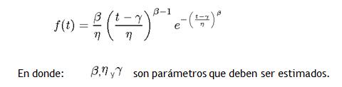 calculo de probabilidad de colapso