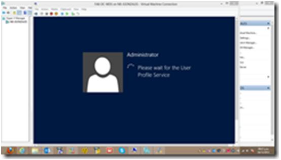 configuracion de cuenta administrator III