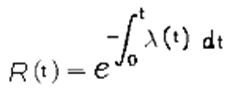 ecuacion de confiabilidad para periodos futuros