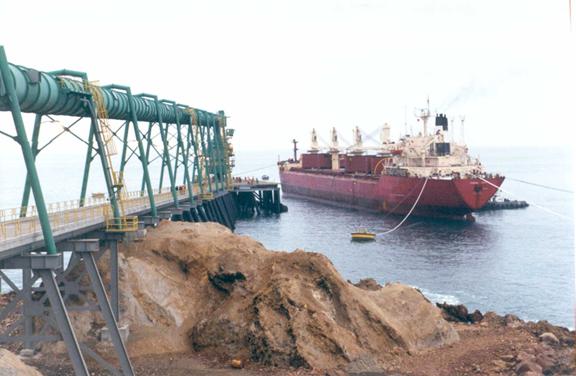 exportacion de minerales