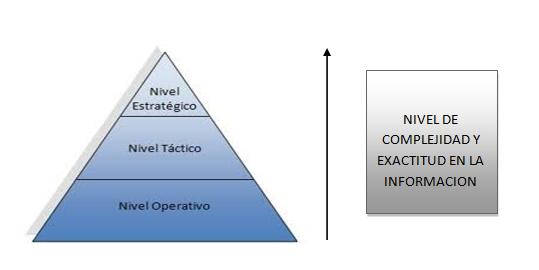 nivel de complejidad y exactitud de la informacion