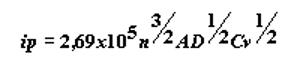 relacion corriente de pico concentracion de la especie y velocidad de barrido